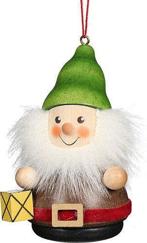 Christian Ulbricht Tree Ornament Teeter Man Dwarf Lantern – 8 cm / 3.1 inch