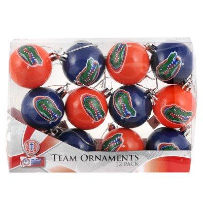 NCAA Ball Ornament (Set of 12) NCAA Team: Florida Gators