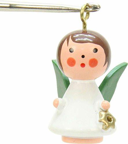 Christian Ulbricht Tree Ornament – Mini-Angel – 1,5×2,5 cm / 1×1 inch