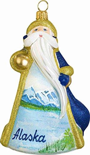 Joy To The World Glitterazzi Alaska Santa