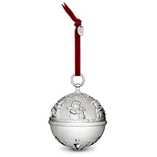 Hallmark Keepsake Christmas Ornament 2018 Year Dated, Silver Bell Christmas Ornament, Ring In the Season Jingle Bell, Metal
