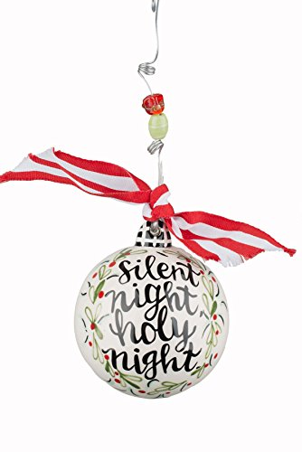 Glory Haus Silent Holy Night Ball Ornament, 4″ x 4″, Multicolor