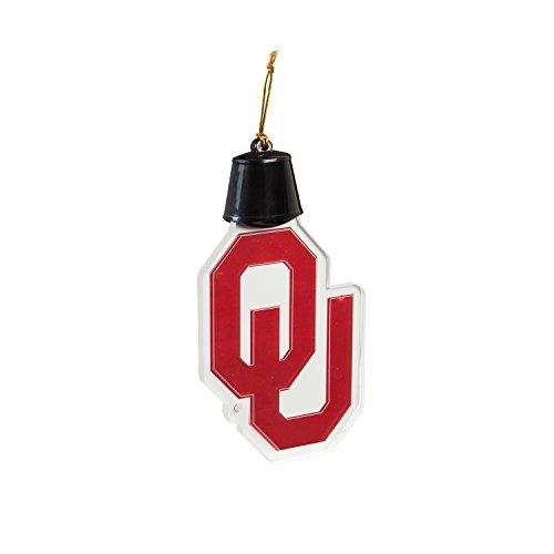 Team Sports America University of Oklahoma Radiant Lit Acrylic Team Icon Ornament