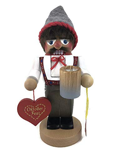 Steinbach Nutcrackers Wooden Chubby Bavarian 11 Inches Tall Collectible Christmas Figures Kurt Adler Hand Made in Germany
