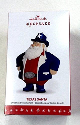 Hallmark QSR6004 Texas Santa Keepsake Ornament