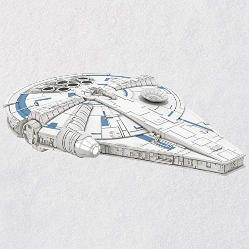 Hallmark Solo: A Star Wars Story Millennium Falcon Ornament with Light Sci-Fi,Movies & TV