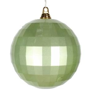 Vickerman 8″ Celadon Candy Finish Mirror Ball Christmas Ornament