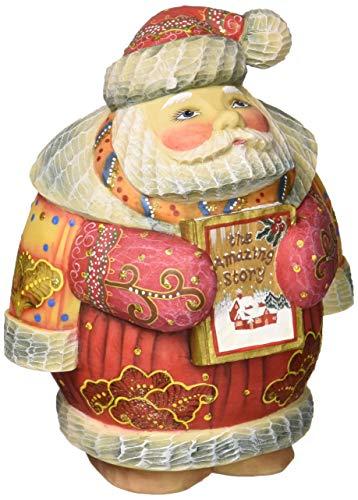 G. Debrekht 5 Inch Storytime Santa
