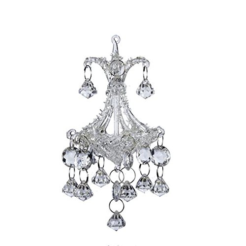 6.3″glass Chandelier Ornament