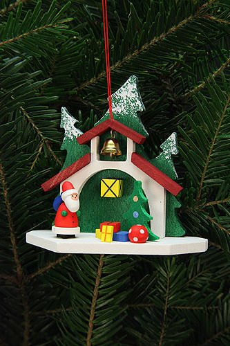 Tree ornaments Tree Ornaments Forest Chapel with Niko – 9,2×8,7cm / 4×3 inch – Christian Ulbricht