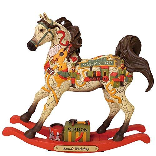 Enesco Trail of Painted Ponies Santa's Workshop Figurine