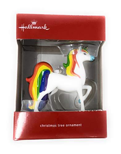 Hallmark Rainbow Unicorn 2018 Christmas Ornament