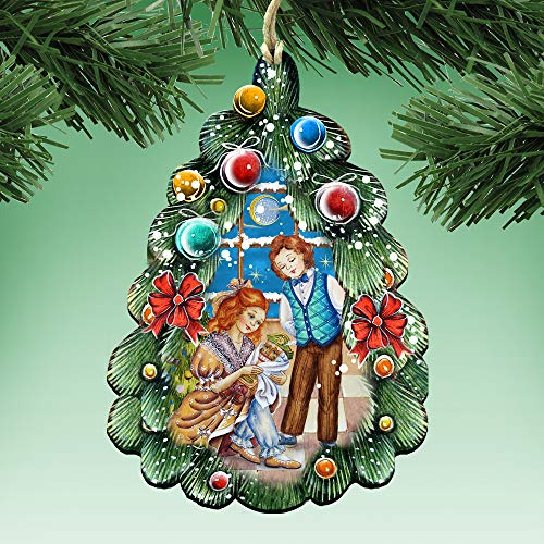 G. Debrekht Nutcracker Christmas Ornaments – Christmas Tree Decor – Decorative Holiday Ornament 8119184