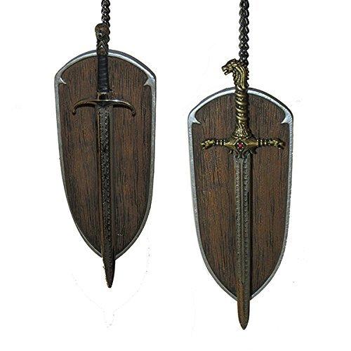 Kurt Adler 6-Inch Game of Thrones Christmas Ornament Set of 2