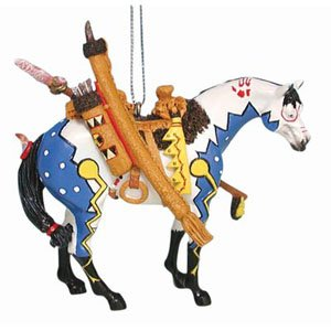 Painted Ponies Woodland Hunter Ornament