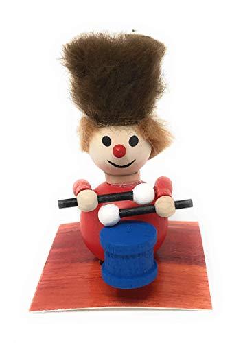 Steinbach Little Drummer Boy with Fur Hat Wood Christmas Ornament