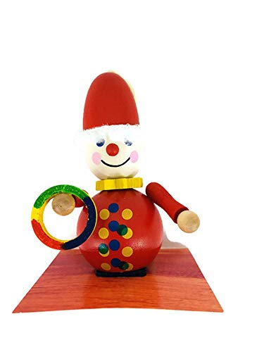 Steinbach Christmas Tree Ornament Handmade German Clown