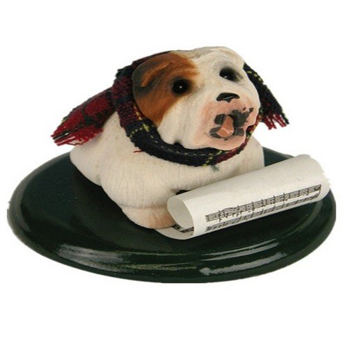 Byers' Choice Caroling Bulldog