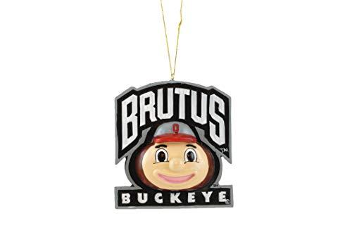 Brutus Ohio State Buckeyes Mascot Hanging Ornament