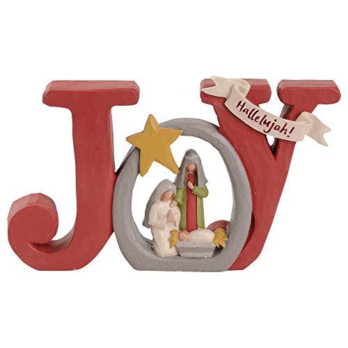 Blossom Bucket 188-11895 Joy Holy Family Figurine
