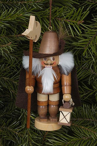 Tree ornaments Tree ornament Nightwatchman natural – 12cm / 5 inch – Christian Ulbricht