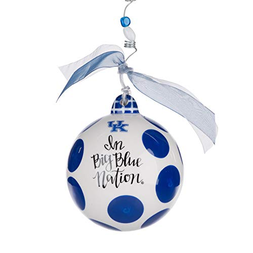 Glory Haus Kentucky Collegiate Hanging Ornament, Multi-Colored