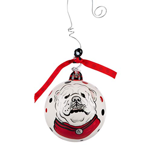 Glory Haus Georgia UGA Hanging Ornament, Multi