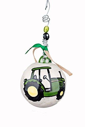 Glory Haus 4 x 4 Tractor Ball Ornament, Multicolor