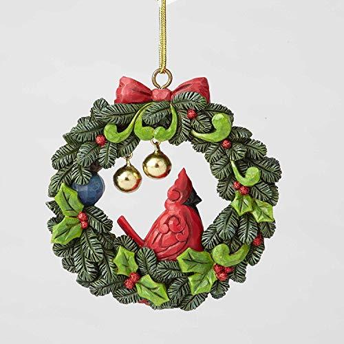 Jim Shore Heartwood Creek Enesco Legend of the Wreath Ornament