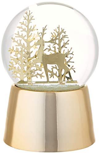 Lenox Reindeer Snowglobe