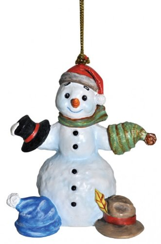 Hummel 3″ Snowfall Valley What Should I Wear Today Snowman with Hats Christmas Ornament