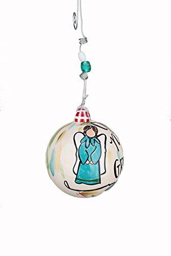 Glory Haus 20100127 Good News of Joy Ball Ornament, 4″ x 4″, Multicolor