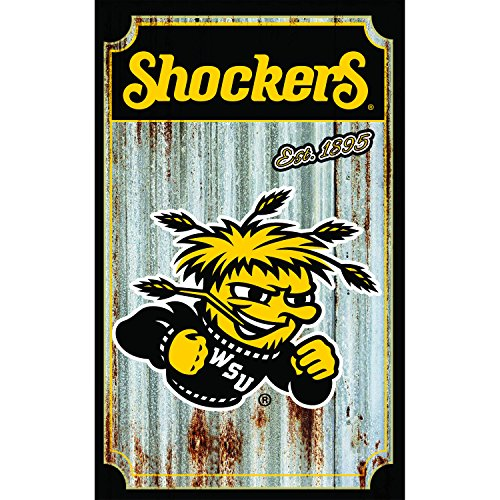 Team Sports America Wichita State University Corrugated Metal Ornament