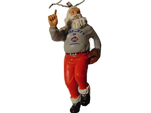 Forever Collectibles New York Mets Santa Claus Holiday Christmas Ornament