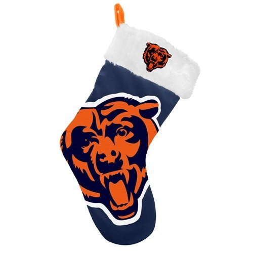 Chicago Bears 2012 Big Logo Plush Stocking