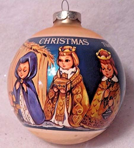 Hummel Christmas 1981 Ornament, 1981 Nativity Hummel Third Annual