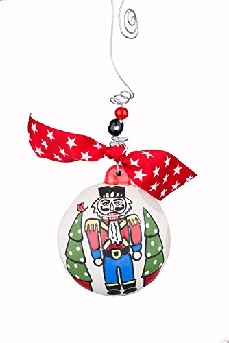 Glory Haus Nutcracker Ball Ornament, 4 x 4, Multicolor
