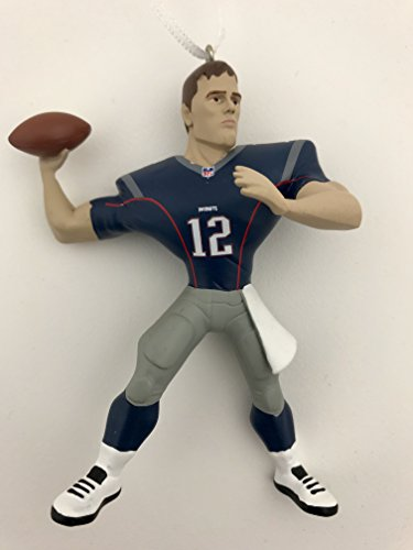 Hallmark NFL New Englas Patriots Tom Brady Christmas Ornaments