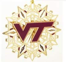 Virginia Tech Logo Baldwin Ornament