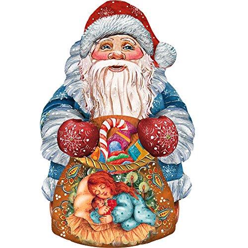 G. Debrekht On The Go Santa Deco Ornament