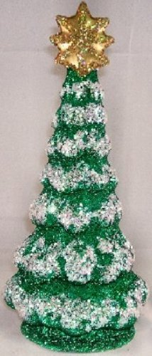 Pinnacle Peak Trading Company Ino Schaller German Paper Mache Large Christmas Tree