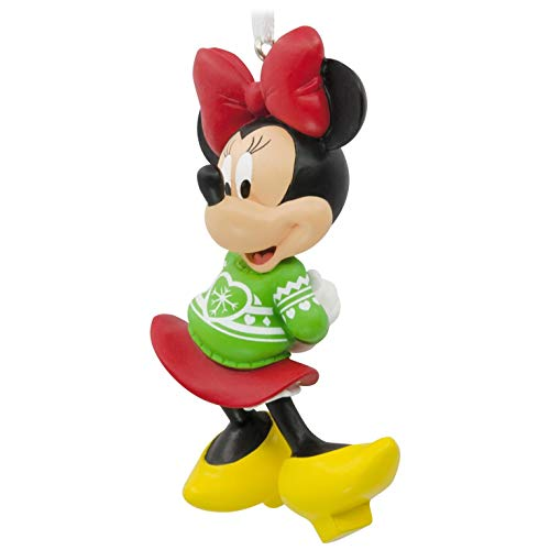 Hallmark Disney Minnie Mouse Christmas Sweater Ornament