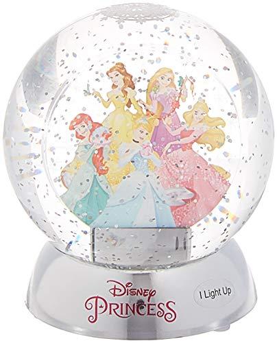 Department 56 Disney Classic Brands Princesses Waterdazzler Waterball, 4.5″ Snowglobe, Multicolor