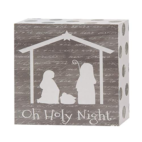Blossom Bucket 188-38949 Oh Holy Night Nativity Wall Plaque