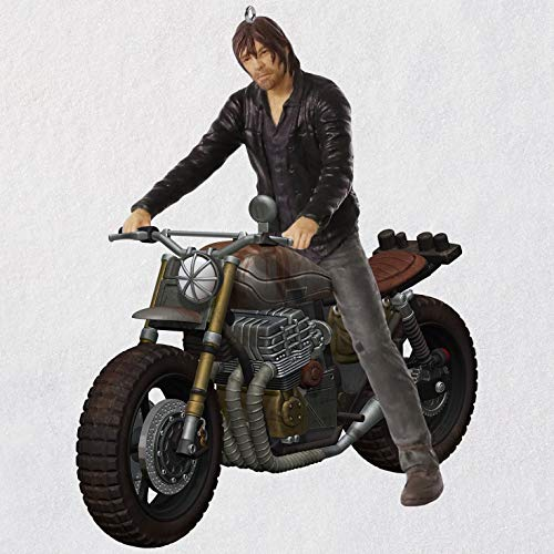 Hallmark The Walking Dead Daryl Rides Again Ornament Movies & TV