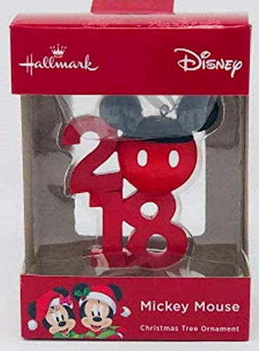 Hallmark Disney Mickey Mouse 2018 Ornament