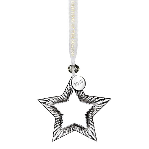 Waterford Crystal 2018 Blank Star Ornament 4.1″