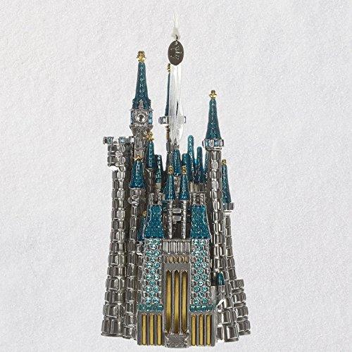 Hallmark Disney Cinderella's Castle Metal Ornament Keepsake-Ornaments Movies & TV