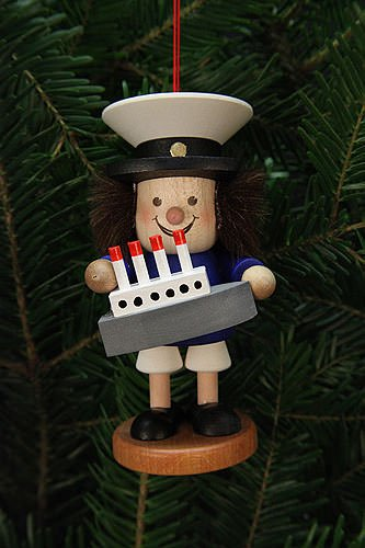 Tree ornaments Tree Ornaments Thug Captain – 10,5cm / 4 inch – Christian Ulbricht