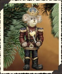 BOYDS ORNAMENT – N. MOUSEKING #25726 by Boyds Bears